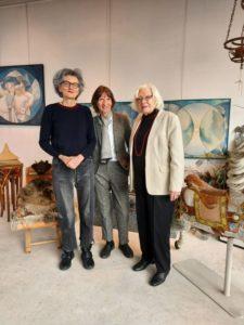 From left to right: Rosemarie Buikema, Aleida Assmann, Ulla Langkau-Alex